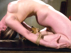 Lindsey Grant in Amateur Casting Couch: Lindsey The Fucking Limber Bitch - HogTied