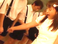 Amazing Japanese chick Yuki Ochiai in Exotic Face Sitting, Gangbang JAV scene