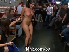 Punishing a naughty slut