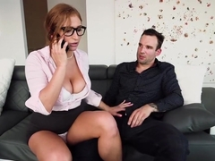 Skylar squeezes some dick into her busy schedule