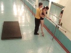 Nude voyeur gymnast