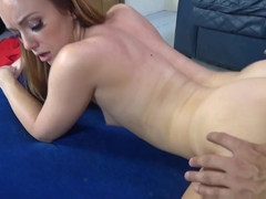 Hottest pornstar Dani Jensen in Best Small Tits, Redhead sex scene
