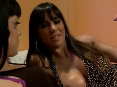 Fabulous lesbian, milf sex movie with incredible pornstars Asphyxia Noir and Gia DiMarco from Whip.