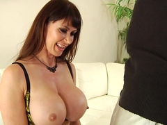 Crazy pornstar Eva Karera in Amazing Big Cocks, Stockings porn clip