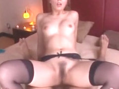 Best Japanese slut Jessica Kizaki in Fabulous Stockings/Pansuto, 69 JAV scene