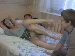 Trick Your GF - Evelyn Cage - Don't fall in love, slut!
