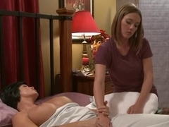 Shay Fox copulates the masseuse