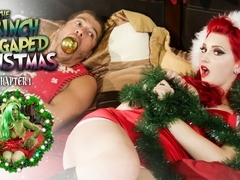Joanna Angel & Xander Corvus & Amber Ivy in How The Grinch Gaped Christmas - Chapter 1 Scene