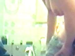 hairy pussy girl caught on hidden cam