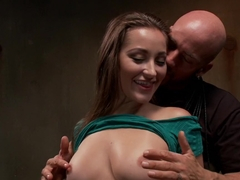 Amazing fetish adult movie with best pornstars Dani Daniels and Derrick Pierce from Dungeonsex