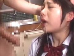 Exotic Japanese model Hikaru Ayami, Ami Morikawa, Mamiru Momone in Amazing Small Tits, Doggy Style.