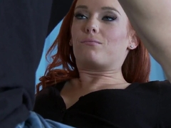 Dani Jensen tantalizes Johnny Sins' crack haunter