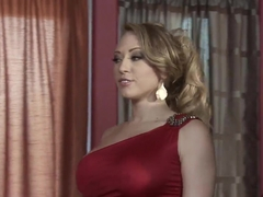 Gorgeous lady Kagney Linn Karter seduces hot Ramon