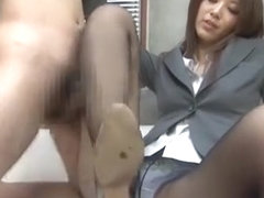 Incredible Japanese model Riko Miyase in Horny Fetish, Foot Job/Ashifechi JAV clip