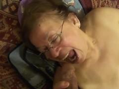 Granny Mexicana big beautiful woman has oral-job sex