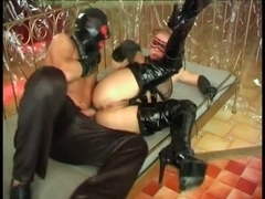 Happiness is warm latex and boots