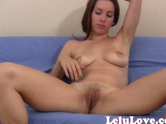 She gives YOU very detailed masturbation instruction