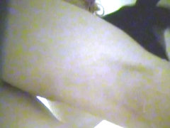 Spy cam dressing room action with fem toweling out pussy