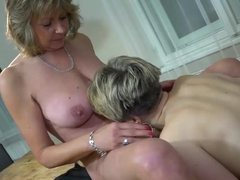 Young ladies fingering sexy matures by Oldnanny compilation