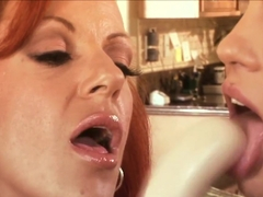 Exotic pornstars Shannon Kelly and Michelle Avanti in fabulous dildos/toys, mature xxx movie