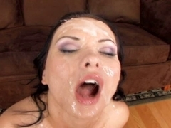 Katja Kassin acquires anal and facual cumshots