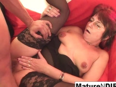 Punky Pierced Granny Loves To Suck And Fuck - MatureNDirty
