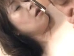 50yr old Granny Akagi Oda Can't Live Without 10-Pounder (Uncensored)