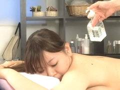 Busty Japanese enjoys some hot hardcore Japanese sex