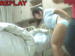 Sweet Japanese teen willingly shakes her ass after sharking