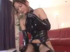 Crazy Japanese slut Midori Mizuno in Exotic Dildos/Toys, Stockings/Pansuto JAV scene