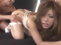 Horny Japanese slut Haruka Sanada in Exotic Fingering, Big Tits JAV clip