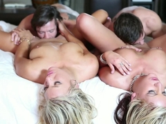 Amazing pornstars Holly Taylor, Cameron Dee, Holly Tyler in Crazy Blonde, Medium Tits xxx scene