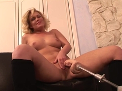 Best pornstar Sasha Knox in exotic solo, mature adult clip