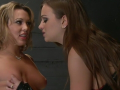 Incredible fetish, lesbian adult video with horny pornstars Nika Noire and Ashley Coda from Whippe.