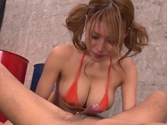 Amazing Japanese whore Haruka Sanada in Hottest JAV uncensored Cumshots clip