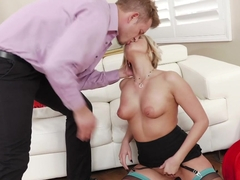 Exotic pornstars Kate England, Bill Bailey in Best Stockings, Anal sex clip