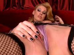 Sandys erotic striptease.