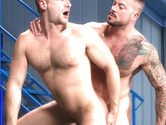 Stiff Sentence XXX Video: Brian Bonds & Sean Duran - FalconStudios