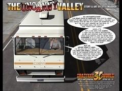 3D Comic: The Uncanny Valley. Episodes 1-2