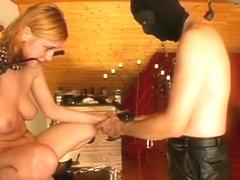 FetishNetwork Video: Collared Blonde Degradation