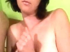 Maya's Handjobs Man Cums Twice