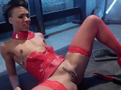 Electro Babes: Playful lezdom fisting, pussy licking and electrosex orgasms!