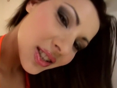 Fabulous pornstar Cindy Hope in horny small tits, brunette xxx movie