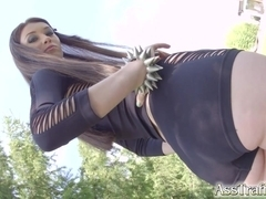 Polish punk hottie Misha Cross in a stunning anal scene.