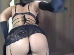 Mom's chastity slave