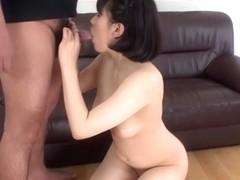 Incredible Japanese chick Hana Harusaki in Exotic JAV uncensored Blowjob movie