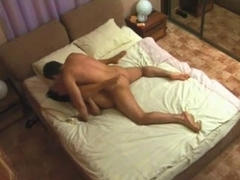 I drilled this Excited Doxy Cheating Wife on Hidden Webcam, P2