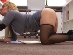 Big Tits at Work: Personal Favors