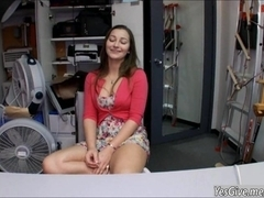 Superb Dani Daniels shows off her amazing body and is fucked in backroom