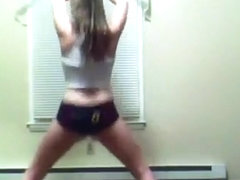 white girl twerking to shut them down by zuse ft young hype & luck miz coco